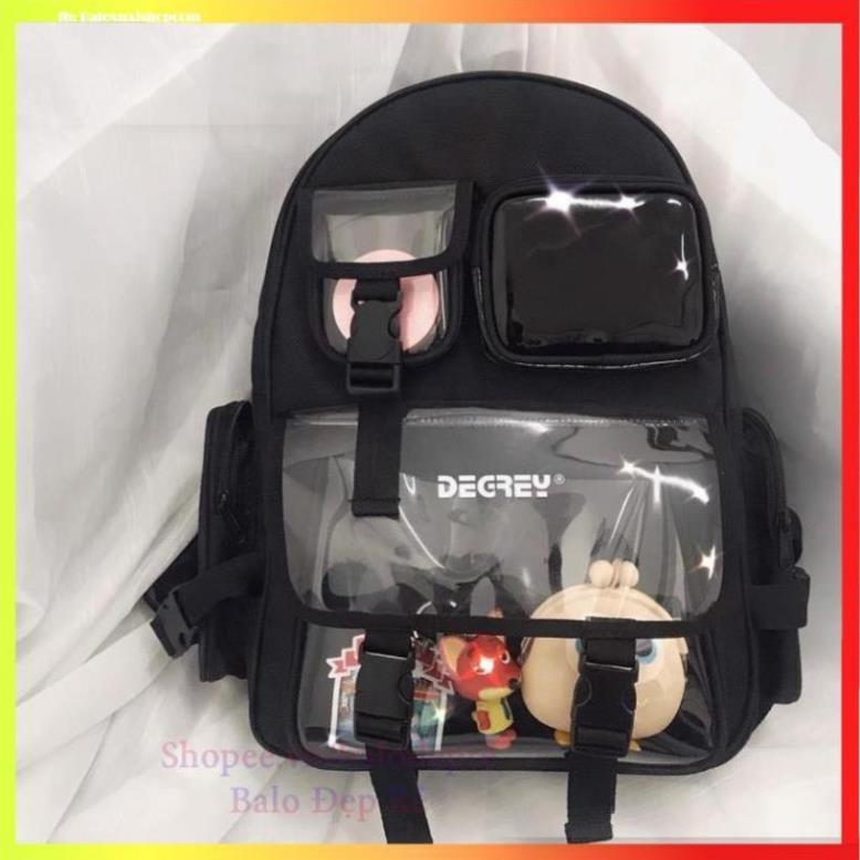 [FreeShip – Clip thật] Balo Degrey Basic Backpack - Ba lô chất XUBL032