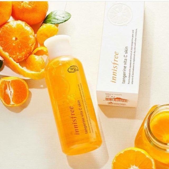 Nước hoa hồng Innisfree Tangerine Vita C Skin - 21507998 , 1055598602 , 322_1055598602 , 390000 , Nuoc-hoa-hong-Innisfree-Tangerine-Vita-C-Skin-322_1055598602 , shopee.vn , Nước hoa hồng Innisfree Tangerine Vita C Skin
