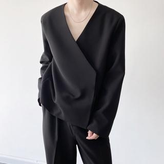 Áo khoác vest thiết kế đơn giản thanh lịch cho nam