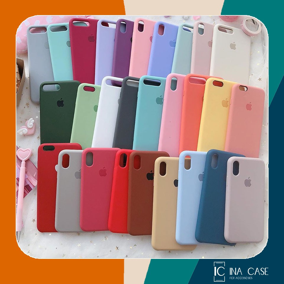 ỐP PASTEL IPHONE SILICONE FULL VIỀN