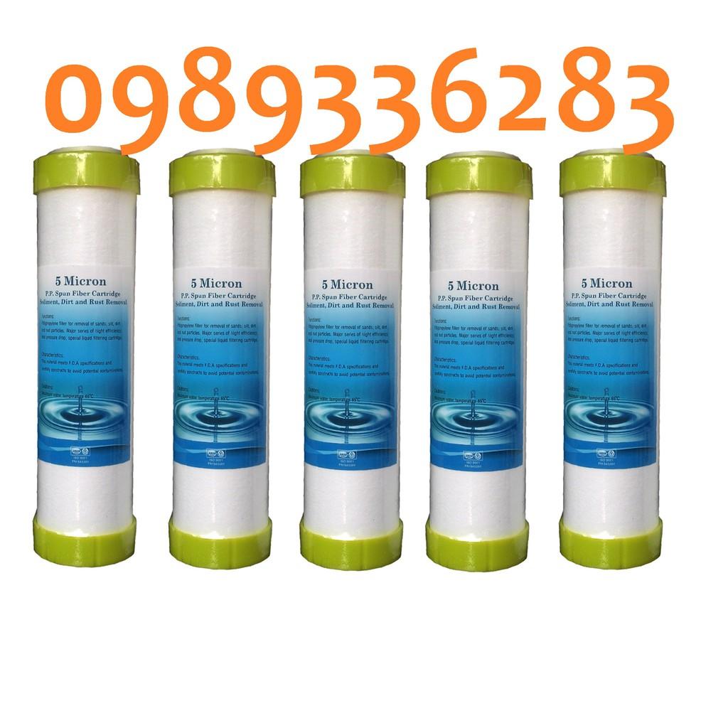 5 LÕI LỌC NƯỚC SỐ 1 đa năng dùng cho các máy lọc nước ro kangaroo karofi htech tân á
