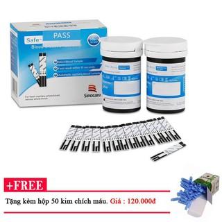 Que thử đường huyết, tiểu đường Sinocare Safe-Acucu đảm bảo an toàn, chính xác