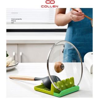 Giá để vung-đũa -thìa-muôi 4 in 1 chống trượt, giá treo dụng cụ nhà bếp tiện lợi COLLEN LIFE thumbnail