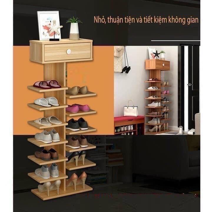 HỎA TỐC - kệ giày gỗ, kệ giày cây - gỗ MDF