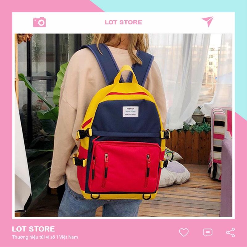 Balo laptop du lịch đi học mini nữ đẹp TRITA BL52