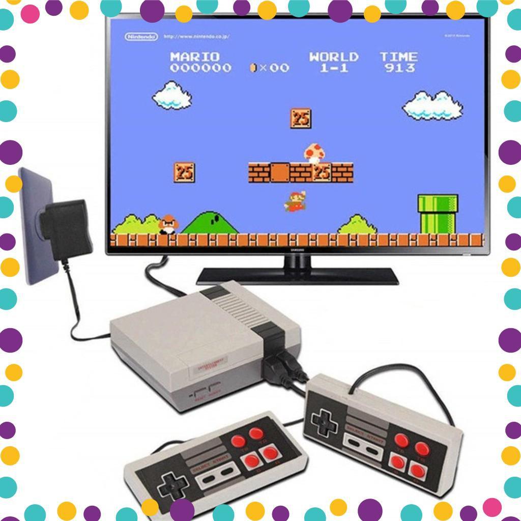 Mã ELMSM3 giảm 20K đơn bất kỳ] Xả kho - Máy Chơi Game Cổ Điển NES Classic  620 Trò Chơi