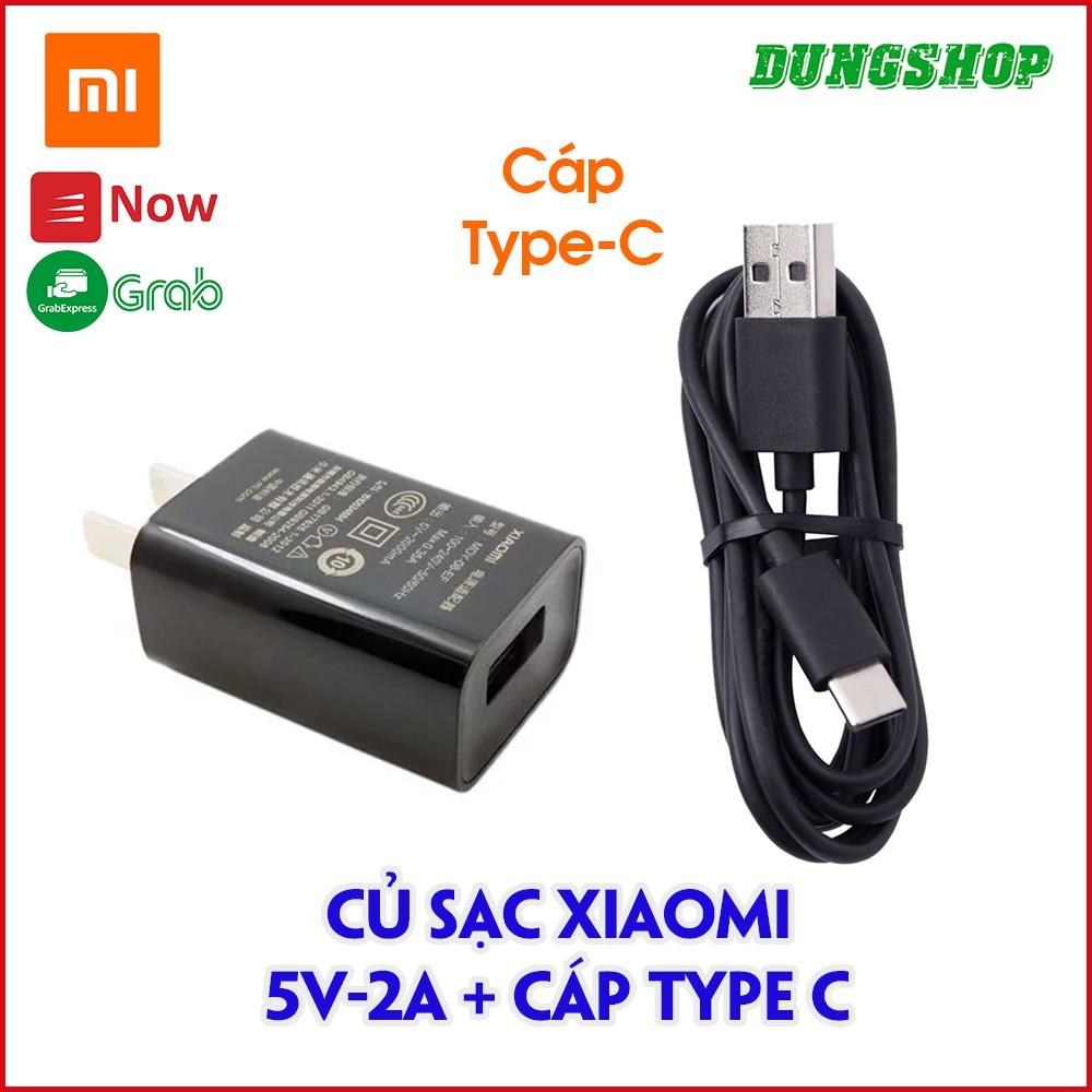 Củ sạc 5V/2A Đen hoặc mua thêm Cáp Type C
