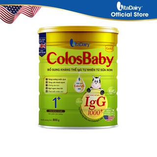 Sữa bột COLOSBABY GOLD 1+ 800G - S thumbnail