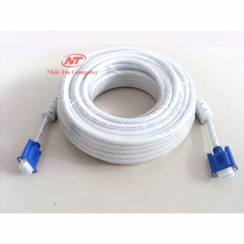 Cáp tín hiệu VGA đầu chống nhiễu dài 20m VS - loại dày (trắng) - 2495693 , 368860262 , 322_368860262 , 139000 , Cap-tin-hieu-VGA-dau-chong-nhieu-dai-20m-VS-loai-day-trang-322_368860262 , shopee.vn , Cáp tín hiệu VGA đầu chống nhiễu dài 20m VS - loại dày (trắng)