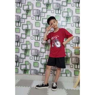 Set Đồ bộ cho bé trai in hình ( XE ĐẠP) dễ thương size lớn 25 đến dưới 50kg ( XD) thumbnail