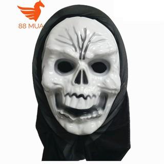 mặt nạ halloween Scream Sát nhân giấu mặt người cười-q53 otoke