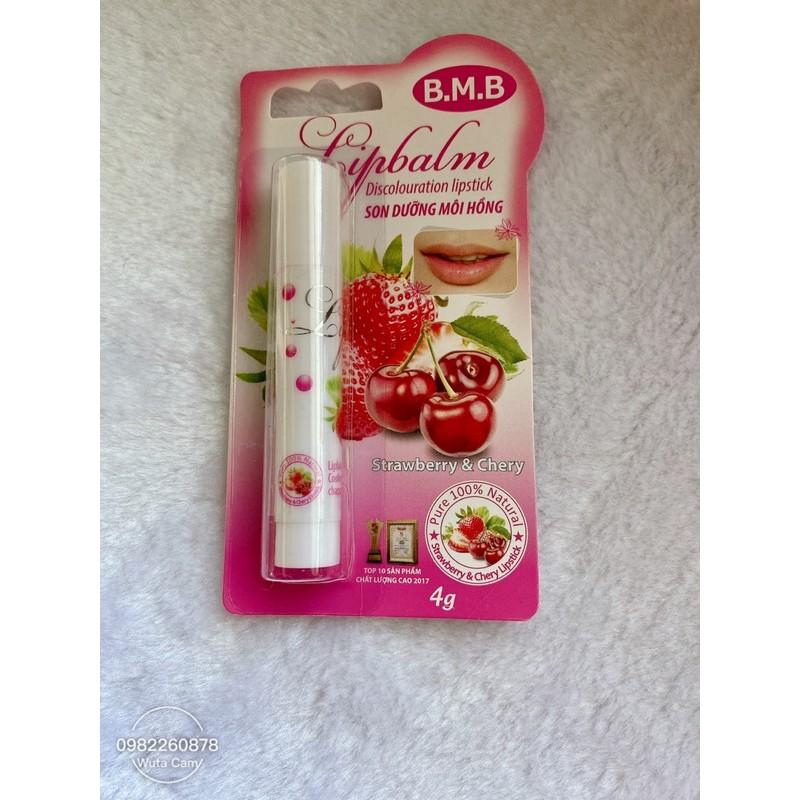 Son dưỡng hồng môi từ Dừa & Cherry BMB