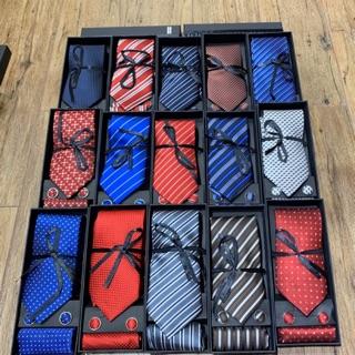 Sét cà vạt silk – Bảng 8cm