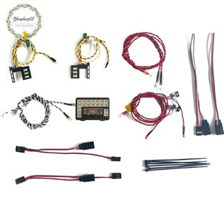 1/10 RC Front and Rear Led Light System Set Crawler Car for Ford