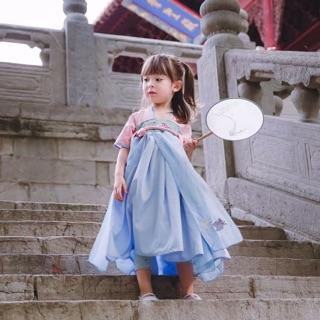Hán phục cổ trang cho bé gái từ 2-7 tuổi