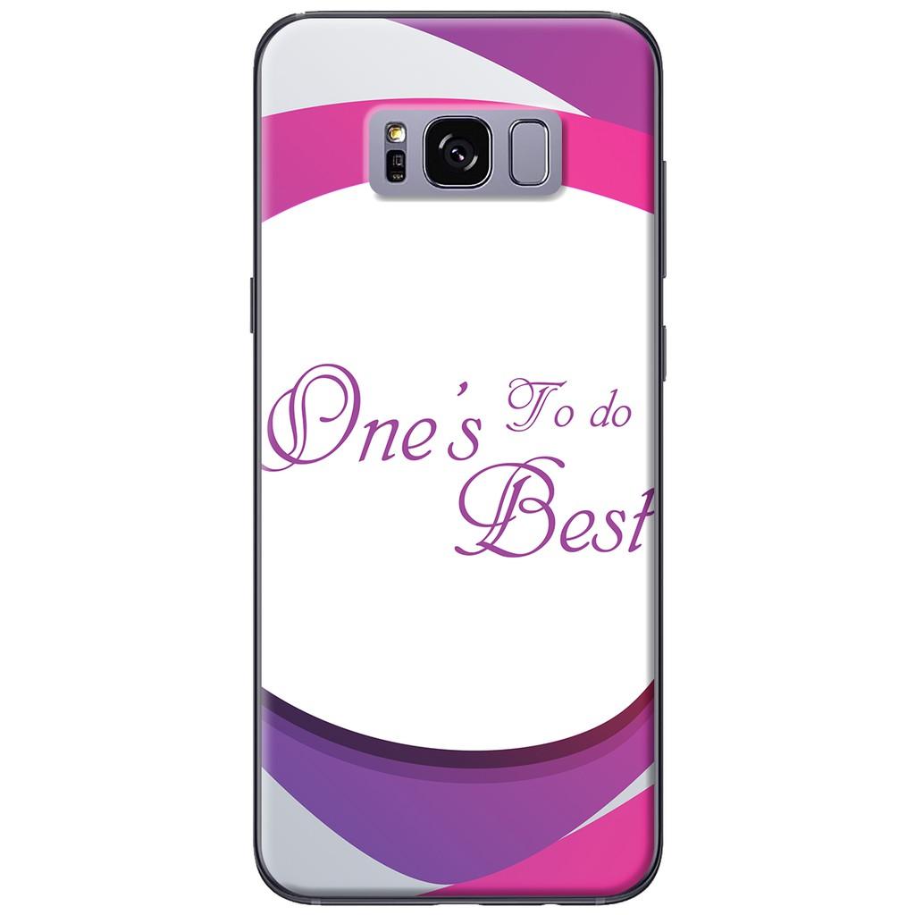 Ốp lưng Samsung S8/S8 plus Do more best