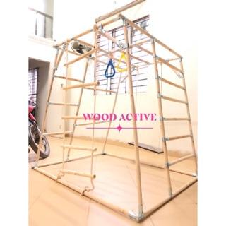 Phụ kiện khung vận động (xà đu), thang dây, xích đu, tay đu
