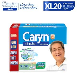 Tã/ Bỉm dán người lớn Caryn Siêu Thấm size XL – PHÂN LOẠI: 10 miếng/ 20 miếng