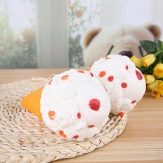 [Giá xinh iu] Squishy kem ốc quế tuyết trắng jumbo