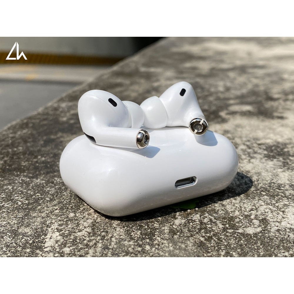 Airpods Pro 1.1 Đổi Tên, Định vị, Chống ồn, Cảm biến Chạm ( Hàng FULLBOX Bản Cao Cấp )