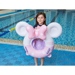 Phao Bơi Xỏ Chân Chống Lật An Toàn Cho Bé Họa Tiết Mickey Dễ Thương SS-001188