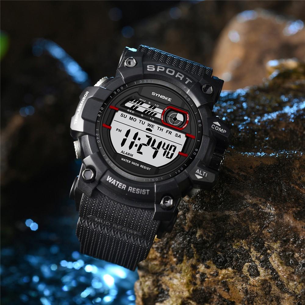 Đồng hồ điện tử SYNOKE đa chức năng 30M , chống thấm nước