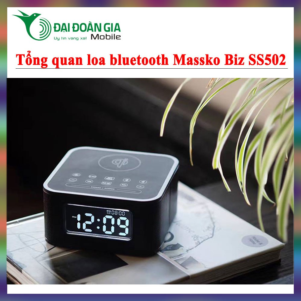 Loa bluetooth Massko Biz SS502 - Vũ trường trong phòng ngủ - 3466435 , 999247516 , 322_999247516 , 1400000 , Loa-bluetooth-Massko-Biz-SS502-Vu-truong-trong-phong-ngu-322_999247516 , shopee.vn , Loa bluetooth Massko Biz SS502 - Vũ trường trong phòng ngủ