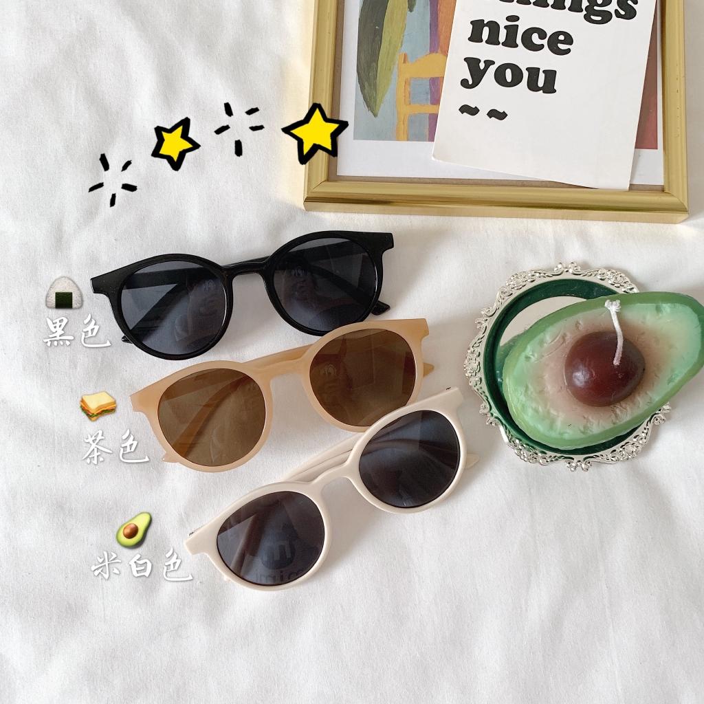 Sunglasses female tide beach net red with the same polarized retro round sunglasses big box round face