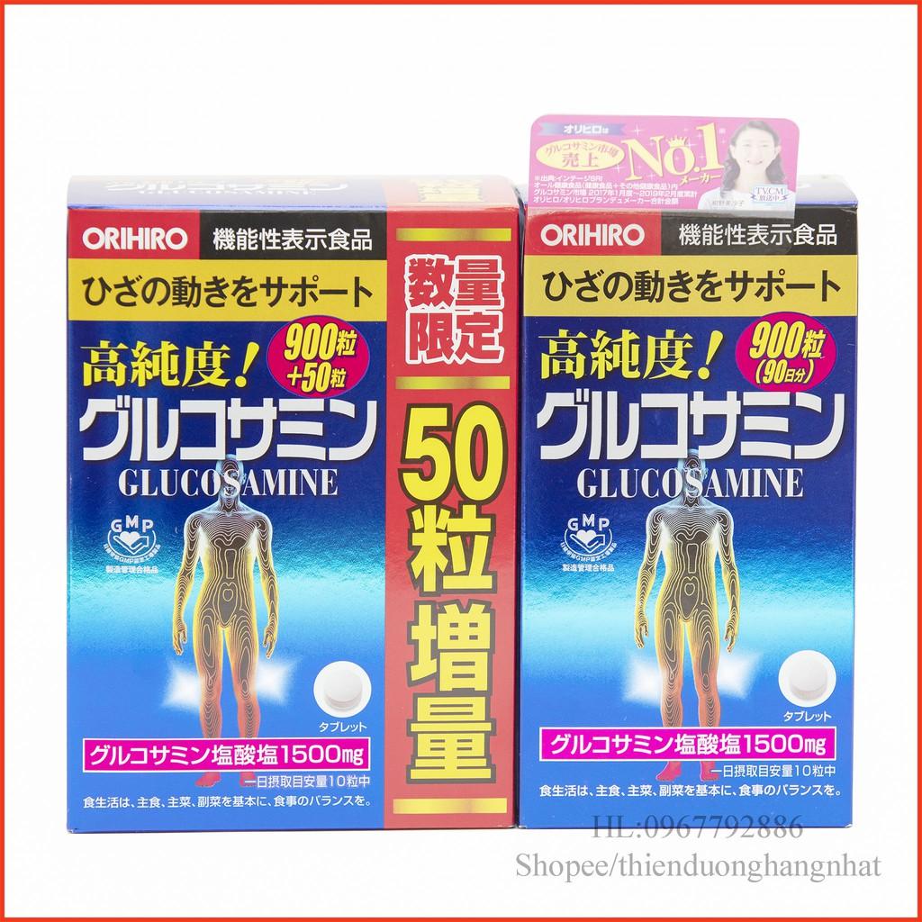 [Date 06/2023] Viên bổ xương khớp Glucosamin 900v/950v Nhật Bản