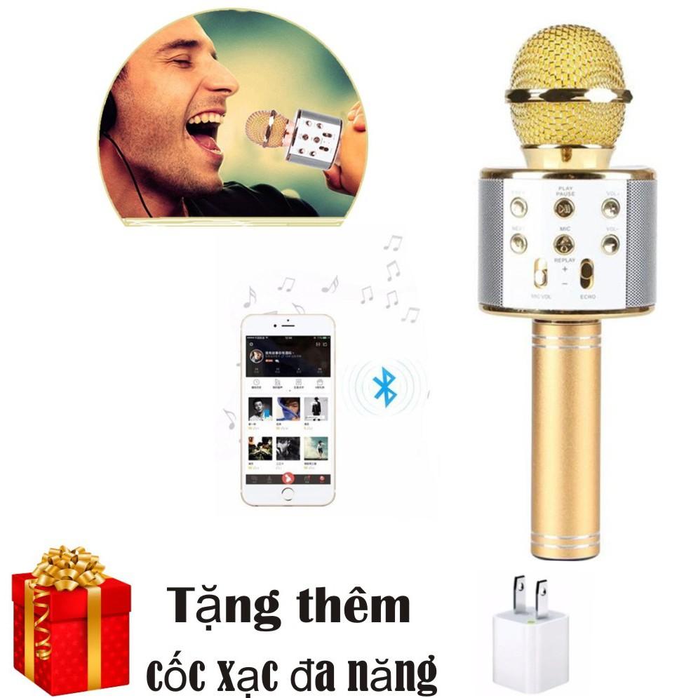 Micro hát karaoke Bluetooth 3in1 kèm loa WS-858 - 3049293 , 484805086 , 322_484805086 , 265000 , Micro-hat-karaoke-Bluetooth-3in1-kem-loa-WS-858-322_484805086 , shopee.vn , Micro hát karaoke Bluetooth 3in1 kèm loa WS-858