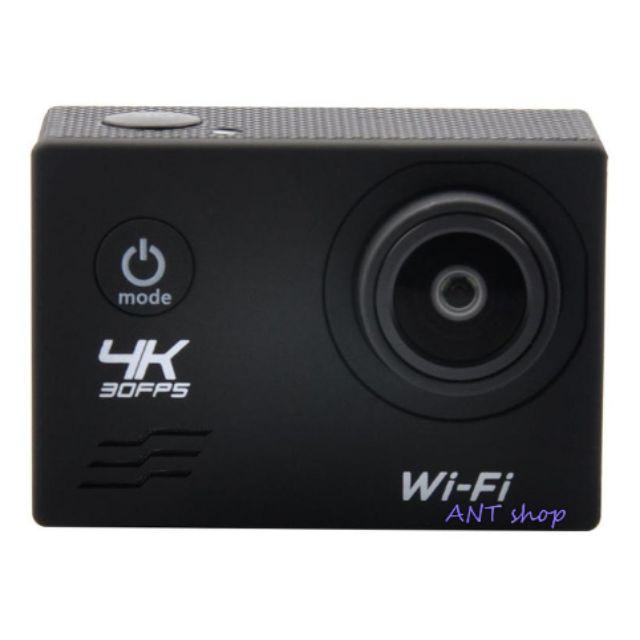 กล้อง 4K Wi-Fi Action Camera ของแท้ 100 % รุ่นใหม่ล่าสุด เลนส์มุมกว้าง 170 องศา