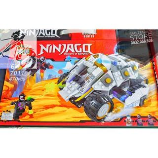 Bộ Xếp Hình Lắp Ráp Xe Quái Thú NinjaGo 7011 ( 470 Mảnh )