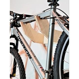 Giá treo xe đạp lên tường bằng gỗ Plywood nhập khẩu siêu bền