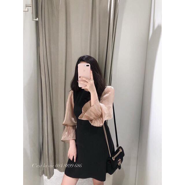 4707558684 - Váy đầm nữ umi tay bồngSIÊU HOT