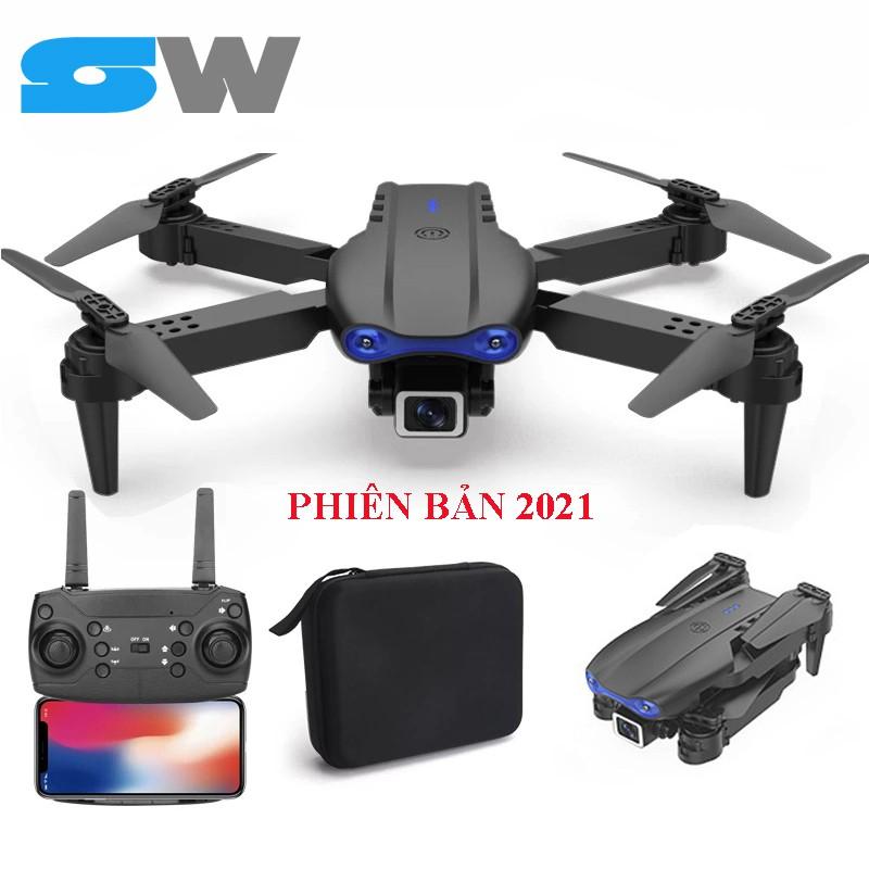 Flycam E99 Pro 2 Thế Hệ Mới 2020, Camera 4K/0.3MP, Góc Quay Rộng, Gấp Gọn Thông Minh
