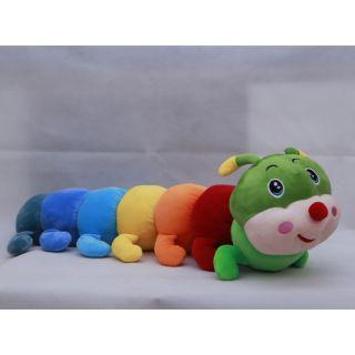 Gấu bông, gối ôm hình sâu sắc màu dài 1m