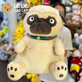 Chó bông mặt xệ choàng khăn – Chó Bông Mặt Xệ gaubongcaocap