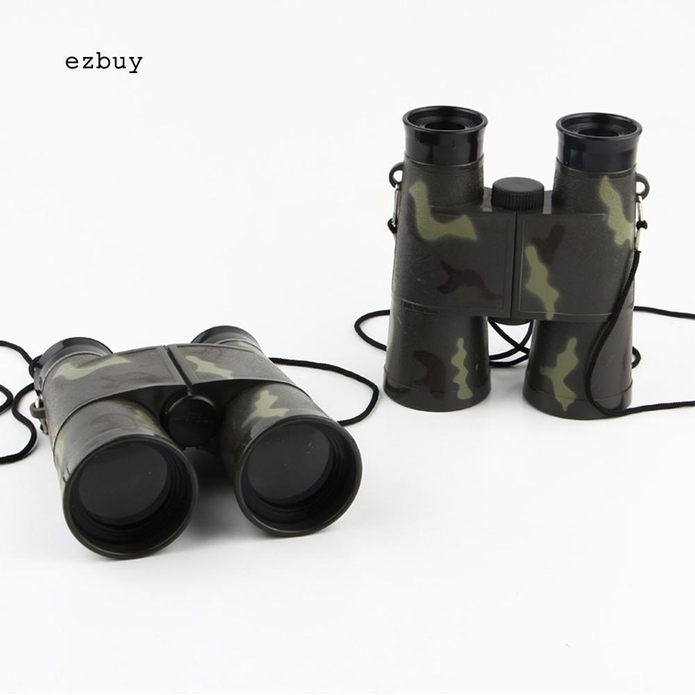 【EY】Camouflage Kids Binoculars For Outdoor Bird Watching Learning Star Gazing
