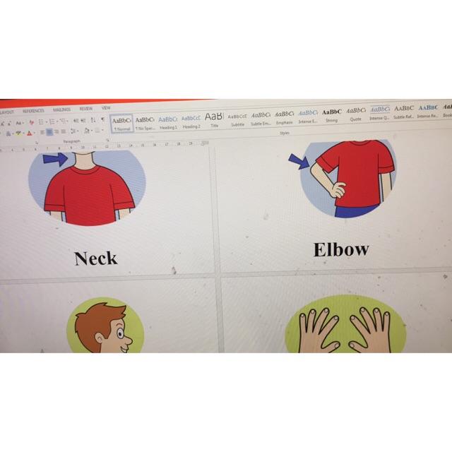 Flashcard mẫu câu và sticker let go