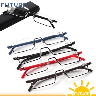 🎈FUTURE🎈 Vision Care with Case TR90 Ultralight Portable Reading Glasses