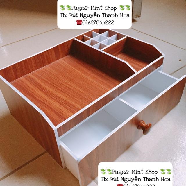 Kệ đựng mỹ phẩm màu gỗ 30cm , khay son , tủ trang điểm - 3399537 , 849503701 , 322_849503701 , 160000 , Ke-dung-my-pham-mau-go-30cm-khay-son-tu-trang-diem-322_849503701 , shopee.vn , Kệ đựng mỹ phẩm màu gỗ 30cm , khay son , tủ trang điểm