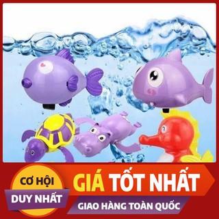[Mã TOYDEC giảm 10% tối đa 15K đơn từ 50K] combo 5 thú chơi dưới nước khi tắm con vật random