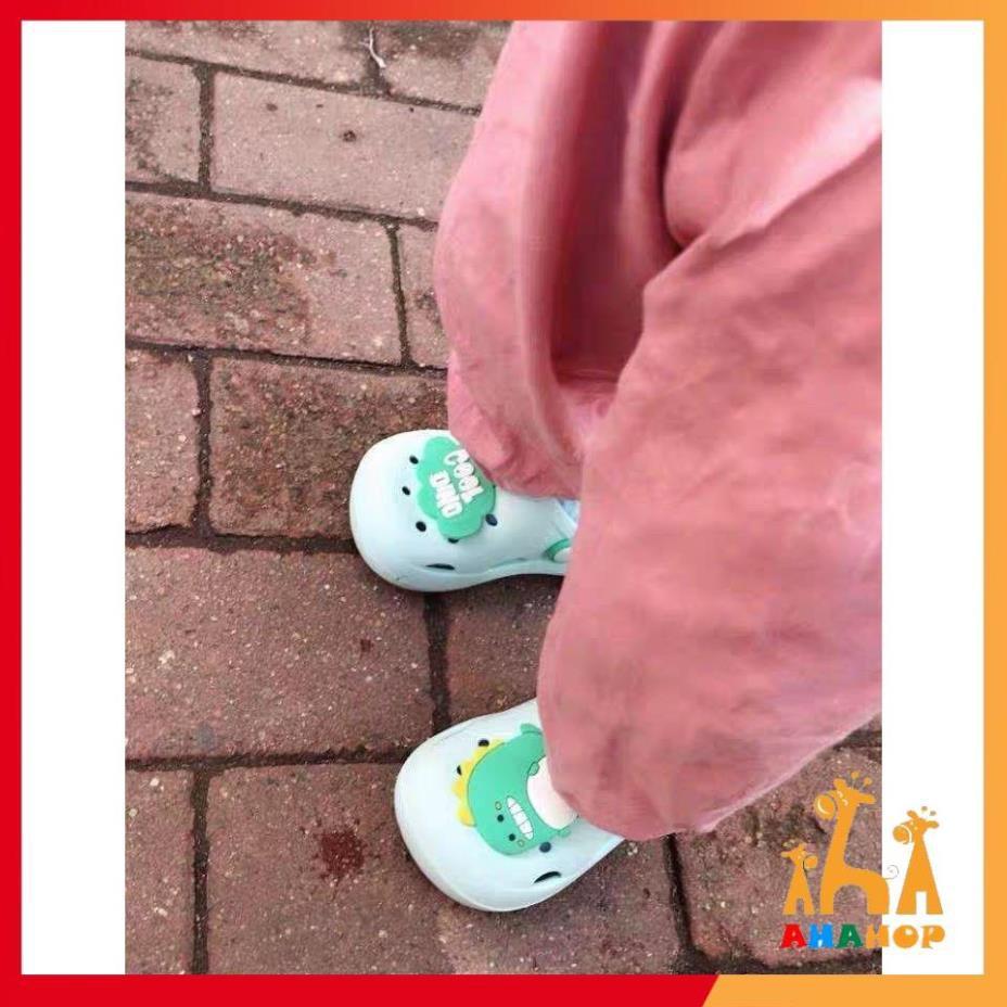 Dép sục cho bé trai bé gái - Dép sục Cross có chống trơn trượt cho bé nhiều màu dễ thương siêu nhẹ siêu mềm  SCB02