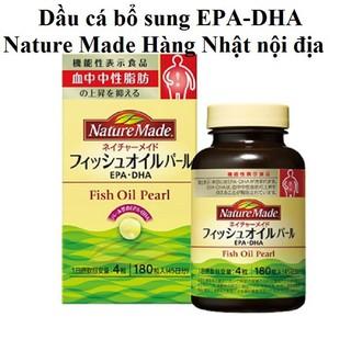 Viên uống dầu cá EPA DHA FISH OIL PEARL Nature Made
