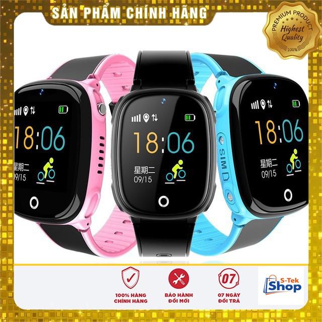 Đồng Hồ Thông Minh Trẻ Em HW11 - Smartwatch có Tiếng Việt, Nghe Gọi, Định Vị GPS, Có camera, Chống nước Siêu Bền