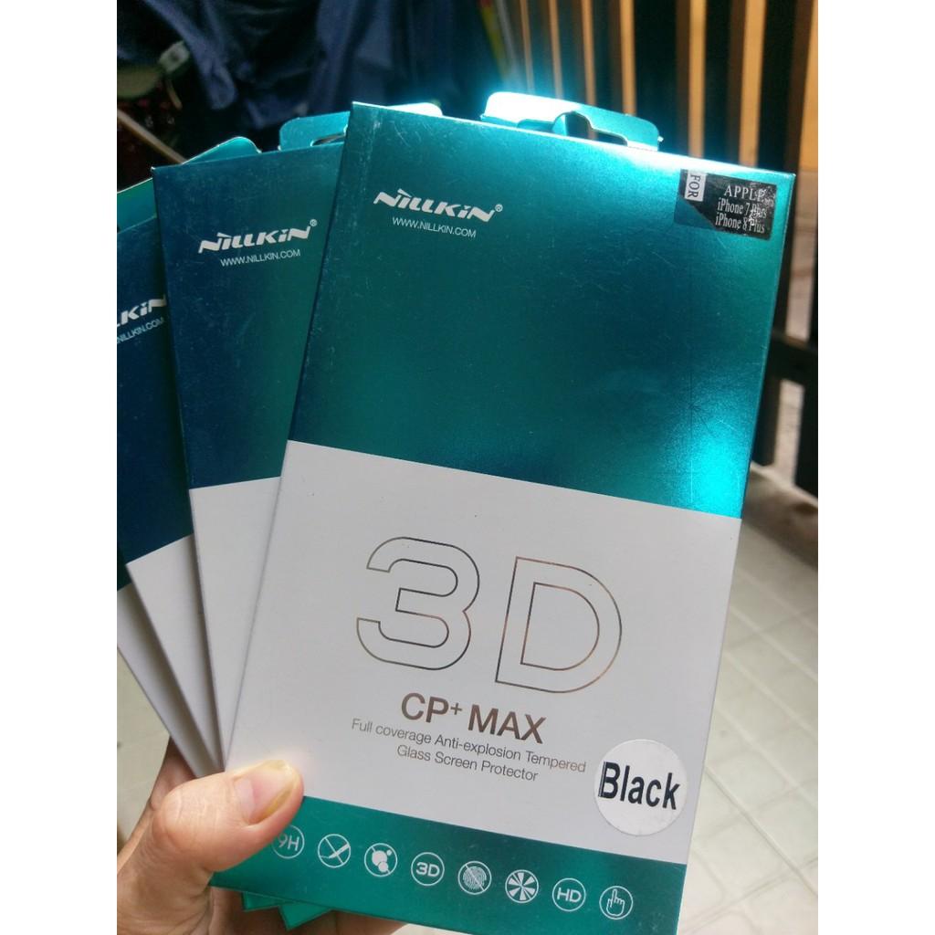 kính cường lực full màn hình iphone 7 plus/ 8 plus Nillkin 3D CP+ Max