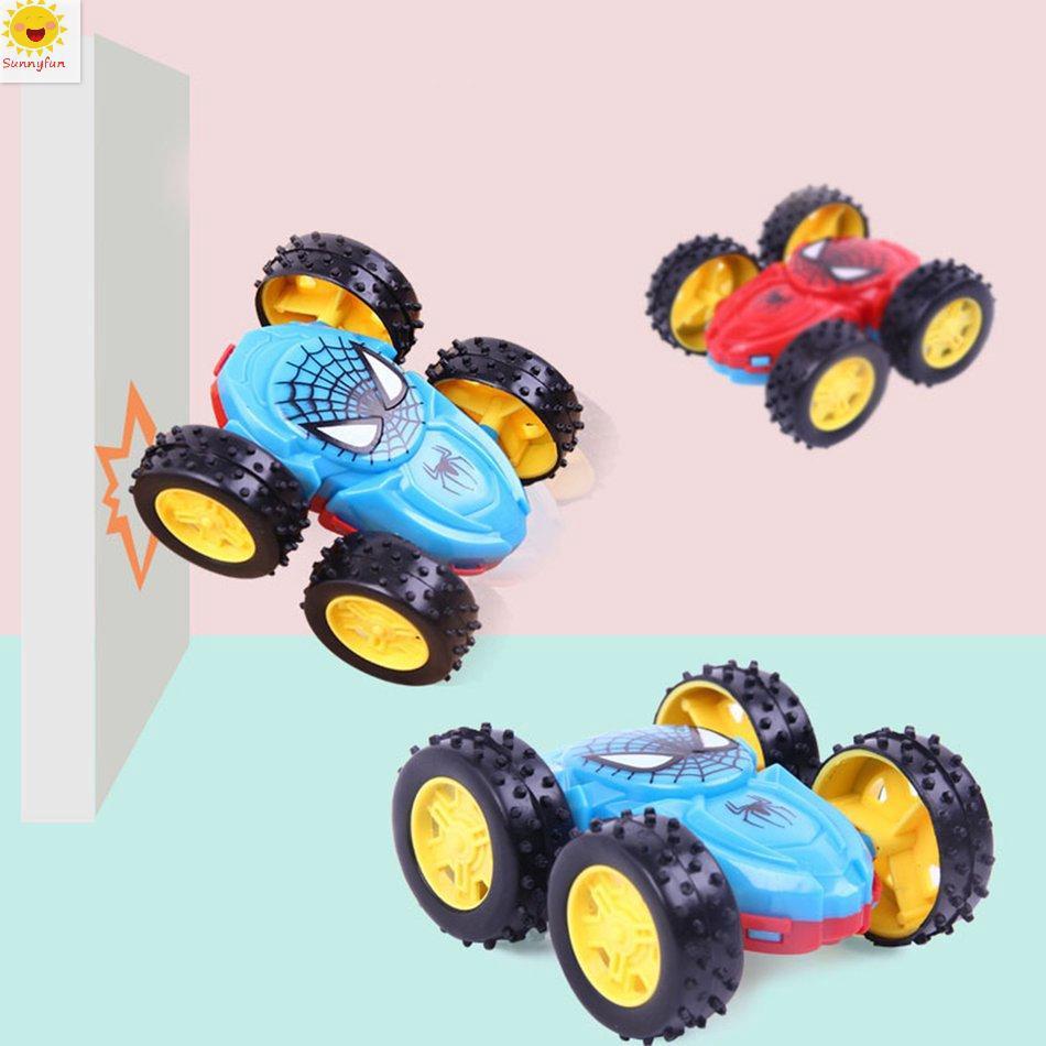 Xe tải đồ chơi 2 mặt xoay 360 độ chống ngã độc đáo cho bé