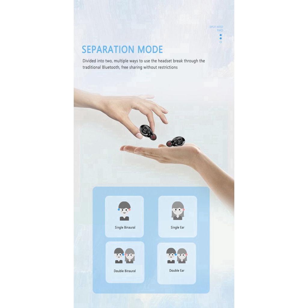 Tai nghe Bluetooth Xg 8 TWS nhét tai không dây nhét tai 2 bên kèm mic