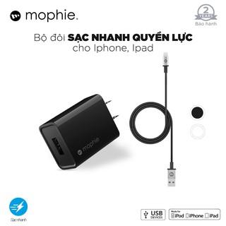 Combo sạc nhanh MOPHIE 10W cho iPhone iPad thumbnail