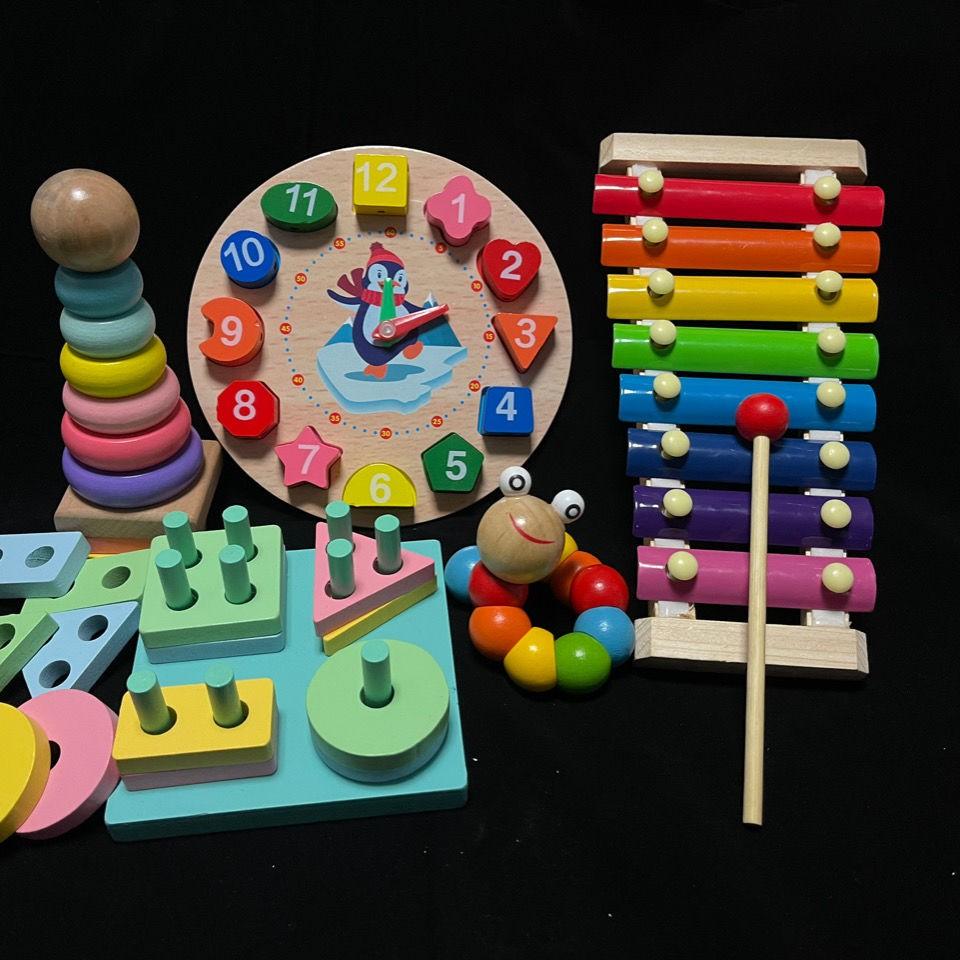 Trẻ sơ sinh với âm nhạc 3-6 6-12 sáu tám tháng bé trí tuệ con trai sơ sinh  của trẻ em, em bé đồ chơi 0-1 tuổi - Sắp xếp theo liên